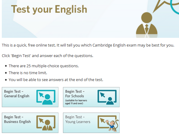 Cambridge-online-test