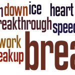 Idioms with 'break'